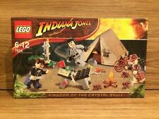 LEGO Indiana Jones 7624 Jungle Duel Crystal Skull RARE Brand New Factory Sealed