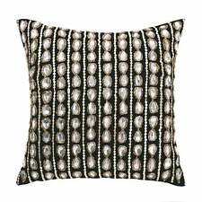 Linen House Classic Collection cushion cover VALERIA BLACK sequins beads jewels