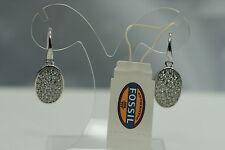 FOSSIL Schmuck Damen 925 Silber rhodiert Ohrringe Hänger JFS00108 Besatz NEU