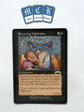 Recurring Nightmare X1 Exodus *PLAYED* Magic the Gathering MTG! Bl