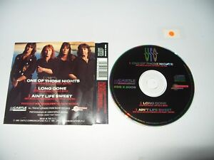 UFO One Of Those Nights 3 Track cd Single 1991  cd is Ex + / Inlay is VG