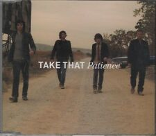 TAKE THAT Patience 2 TRACK CD NEW - NOT SEALED