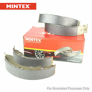 New VW Polo 6R 1.2 Genuine Mintex Rear Brake Shoe Set