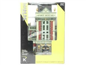 O Scale K-Line 43008 Fire House Building Structre w/ Lighting
