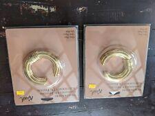 2 Packages of One Pair Vintage Kirsch Swagholders