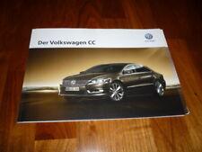 VW CC Prospekt 10/2015