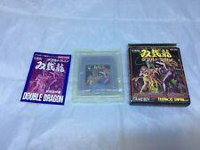 Double Dragon DMG-DDA GameBoy JPN Import Complete in Box