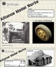 Alliance LW 35006 1/35  SdKfz 234 Wheel Set #2