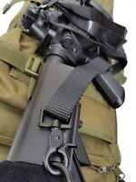 2-point, metal snaps BLACK quick release sling for rifle/airsoft - US inventory