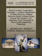 Bendix Aviation Corporation, Appellant, V. Indiana Department Of State Revenu...