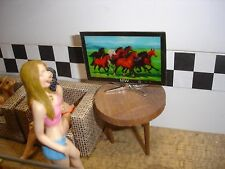 1/18 - WIDE Screen - FLAT Panel TV - SCALE - for your shop/garage/diorama