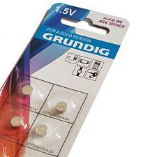10 x AG4 Grundig Batteries Button Batteries/377/LR66 Watches battery new OVP
