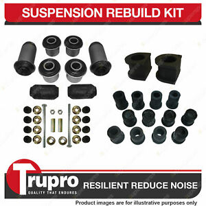 Front + Rear Full Suspension Bushes Kit Complete for Ford Courier 4WD 1998-2005