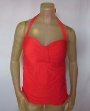 a6461c2f518cf Antonio Melani Papaya Molded Cup Womens Tankini Top Swimwear Small S