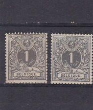 timbres belgique NO 43 neuf **