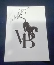 VICTORIA BECKHAM HAND SIGNED OFFICIAL PROMO CARD AUTHENTIC AUTOGRAPH SPICE GIRLS