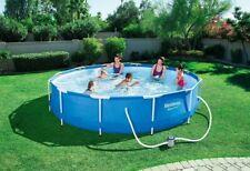 piscina rotonda fuoriterra steel pro Bestway + pompa filtrante 305x76
