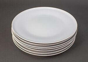 "Paul McCobb Jackson Internationale Japan Contempri White 10 3/8"" Dinner Plates 7"