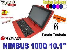 """FUNDA CON TECLADO TABLET WOXTER NIMBUS 100Q 10.1"""" 100 Q VARIOS COLORES"""
