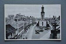 R&L Postcard: High Street and Market Cross Elgin, 1920s 1930s Cars, Valentine