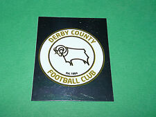 N°206 BADGE DERBY COUNTY MERLIN PREMIER LEAGUE FOOTBALL 2007-2008 PANINI