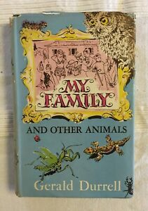 My Family and Other Animals by Gerald Durrell (1956 First Edition Hardback)