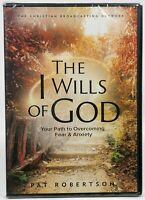 The I Wills Of God DVD Overcoming Fear & Anxiety by Pat Robertson CBN SHIPS FREE