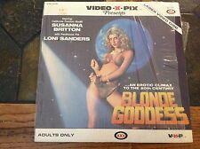 BLONDE GODDESS-SUSANNA BRITTON--LONI SANDERS XXX ADULT LASER DISC- RARE- HTF