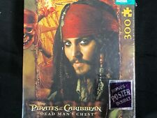 "Pirates of the Caribbean ""Deadman's Chest"" Puzzle, Jack Sparrow-300 pieces, NIB"