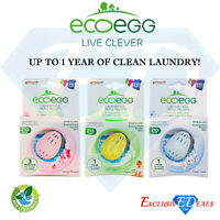 EcoEgg Laundry Egg Refill Pellets - 210 Washes - Choose Between 3 Fragrances