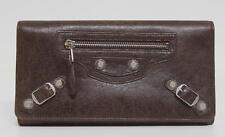 New $625 Balenciaga Cigare Giant Money Arena Leather Wallet Bag
