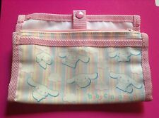 NEW HELLO KITTY FRIEND SANRIO BABY CINNAMON PINK TRAVEL JEWELRY/ MAKEUP BAG