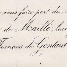 Solange Eugénie Laure De Maillé La Tour Landry 1873 François De Gontaut-Biron