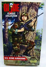 GI JOE CLASSIC COLLECTION 1998 US 82ND AIRBORNE FEMALE BLONDE HAIR NRFB HASBRO