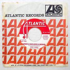 EDDIE HARRIS 45 When a Man Loves a Woman ATLANTIC Jazz SAX Near Mint dd171