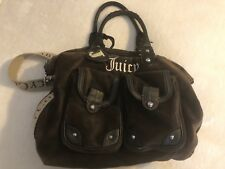 JUICY COUTURE Velour BABY Couture Diaper  Bag Shoulder Bag  Tote