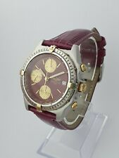 Breitling Chronomat ORO Bi-Metal orologio cronografo gent 51397 - 26810