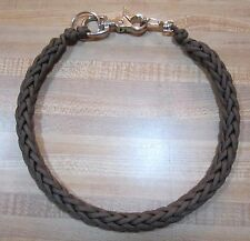 Brown Custom 550 Paracord USA 3 Pin Weave Biker Wallet Chain 1%