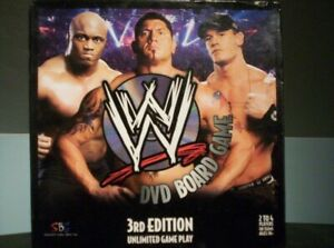 WWE DVD BOARD GAME - 2007