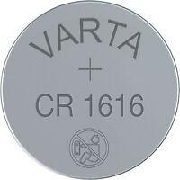 1x Varta CR1616 3V Batterie Lithium Knopfzelle Bulk CR 1616 VCR1616B