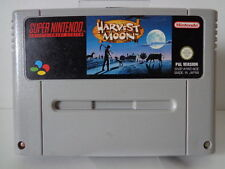SNES Spiel - Harvest Moon (PAL) (Modul)