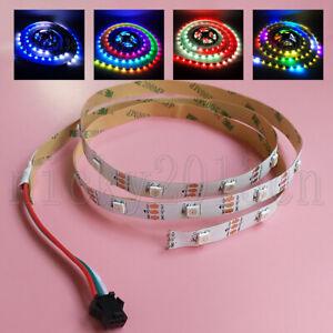 1M 5V WS2812B 5050 RGB LED Flexible Strip Light Rope 30LEDs Addressable Dream