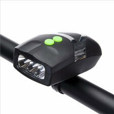 3LED Bicycle Bike Light with Horn Bike Bell Headlight Cycling Riding Accessories