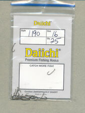 Daiichi 1190 - barbless dry fly hook - size 16        quantity 25