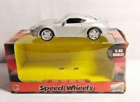 HGL SPEED WHEELS SUPER RACER 1:43 DIECAST PORSCHE - SILVER - SV12046 - BOXED