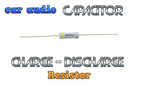 Car Audio Capacitor Cap charge discharge resistor  tool up to 10 farad