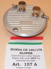 Honda CB160 175sloper Cappellini 157A engine cover ONLY for universal oil cooler