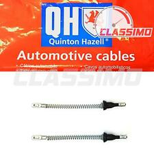 Rear Handbrake Cable Pair for VAUXHALL ASTRA H - rear drum brakes - 2004 to 2010