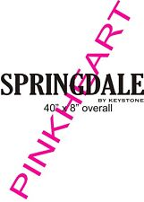 SPRINGDALE RV decal travel trailer graphics keystone stickers camper USA