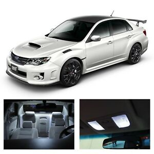 Interior + Reverse LED Light Bulb Kit Subaru Impreza WRX STI Sedan 2008-2013
